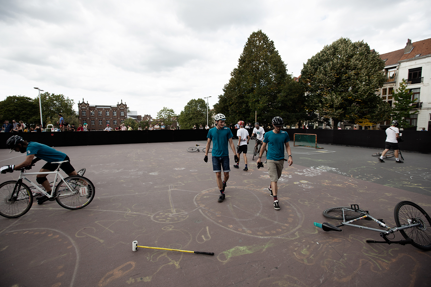 Brussels Bike Polo - Le Grand Royal 8 - 2019 by Laurent Orseau #28