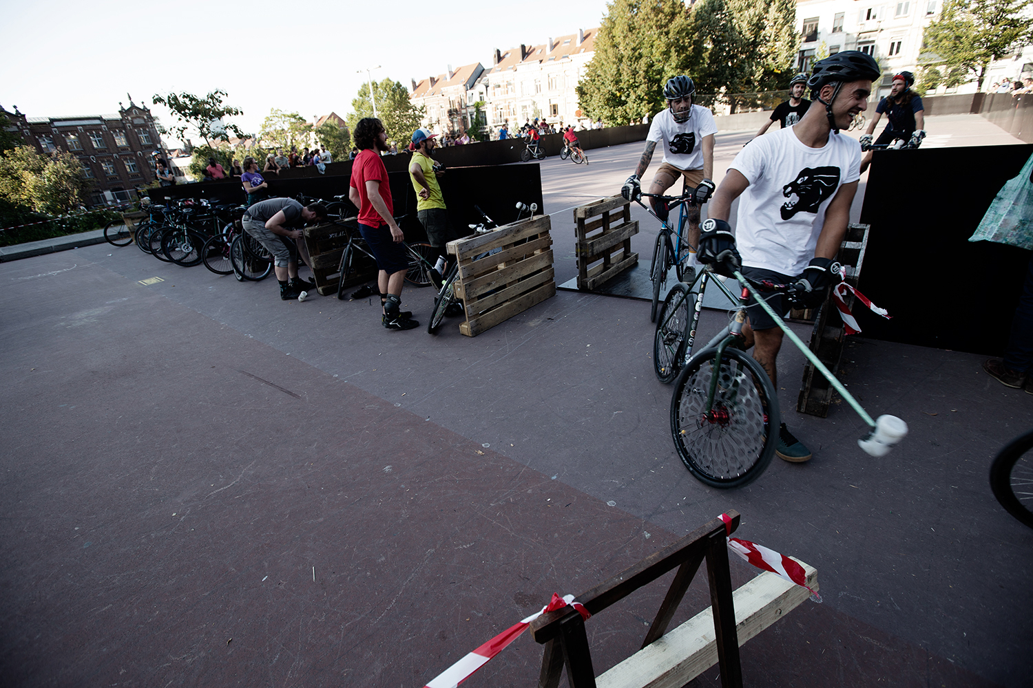 Brussels Bike Polo - Le Grand Royal 8 - 2019 by Laurent Orseau #3