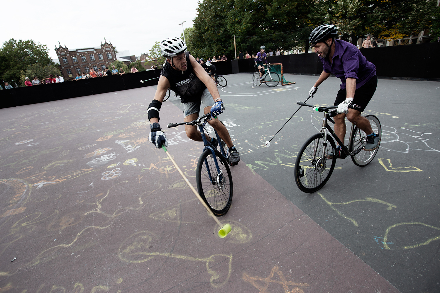 Brussels Bike Polo - Le Grand Royal 8 - 2019 by Laurent Orseau #37