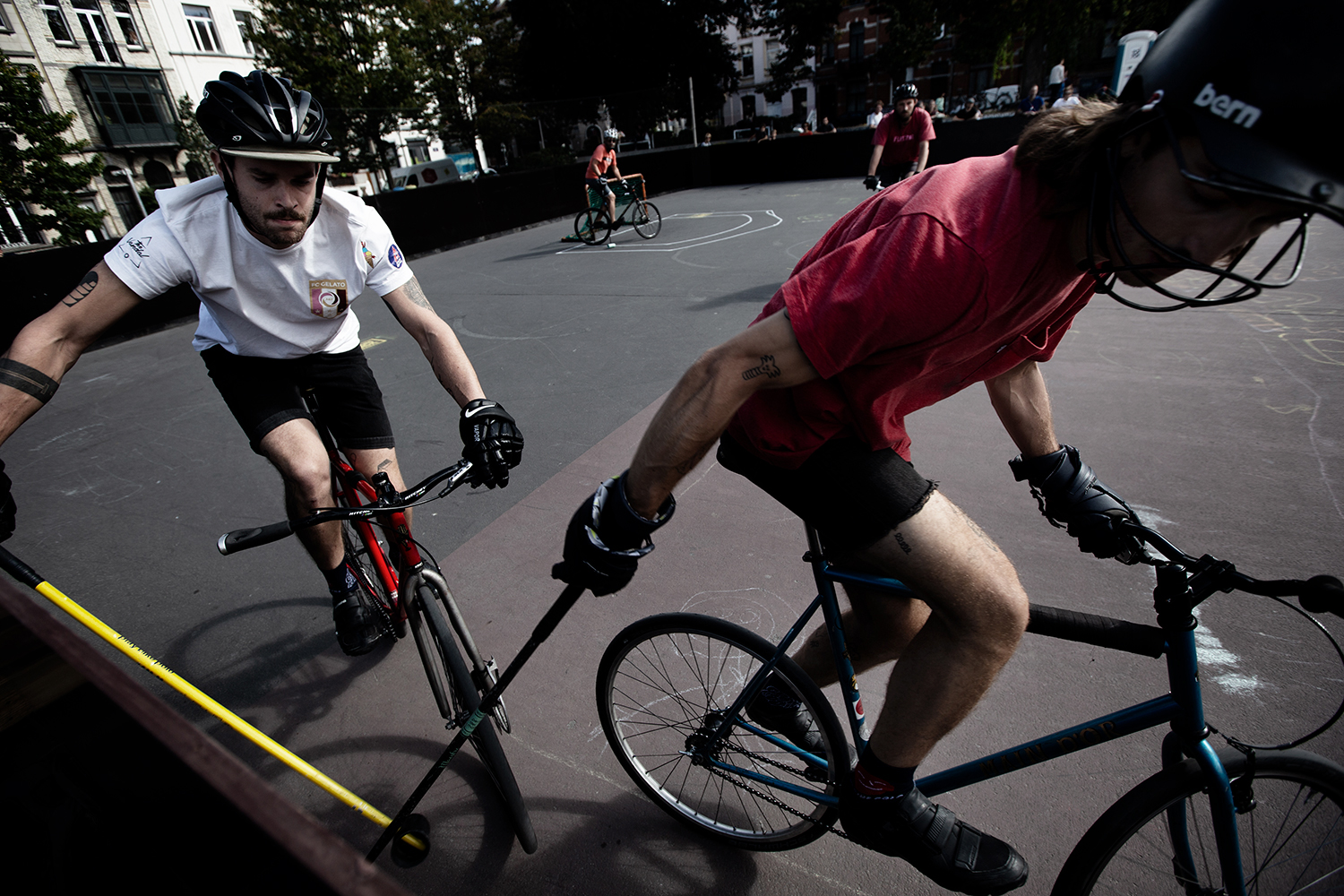 Brussels Bike Polo - Le Grand Royal 8 - 2019 by Laurent Orseau #41