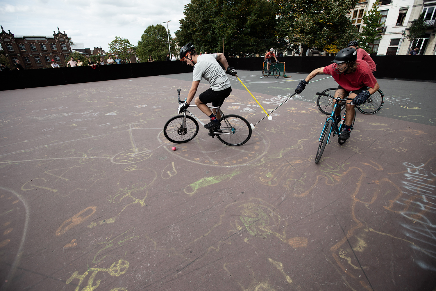 Brussels Bike Polo - Le Grand Royal 8 - 2019 by Laurent Orseau #42