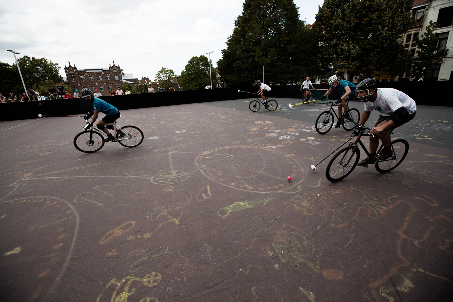 Brussels Bike Polo - Le Grand Royal 8 - 2019 by Laurent Orseau #73