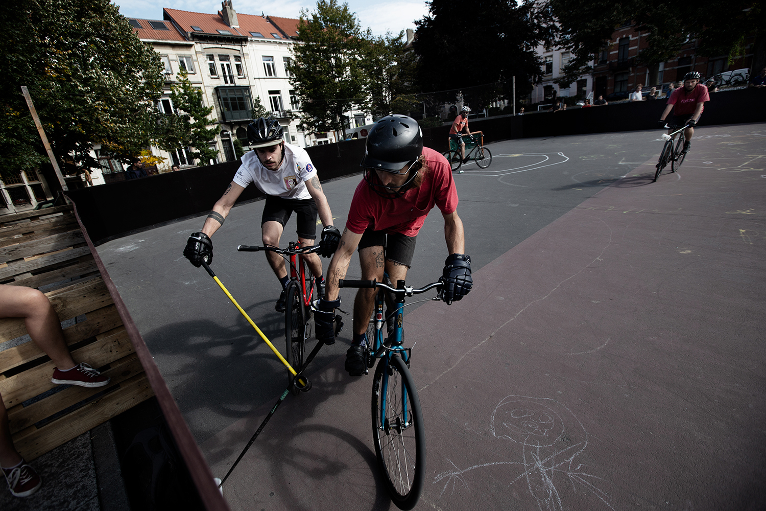 Brussels Bike Polo - Le Grand Royal 8 - 2019 by Laurent Orseau #75