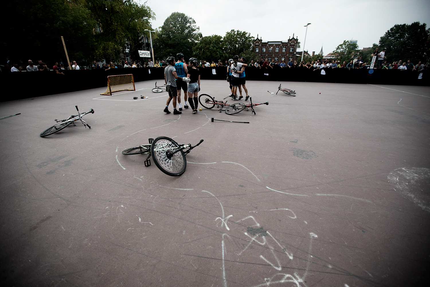 Brussels Bike Polo - Le Grand Royal 10 - 2021 by Laurent Orseau #1