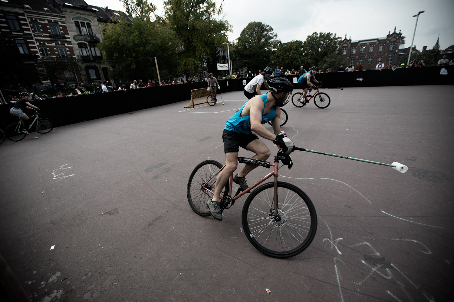 Brussels Bike Polo - Le Grand Royal 10 - 2021 by Laurent Orseau #18