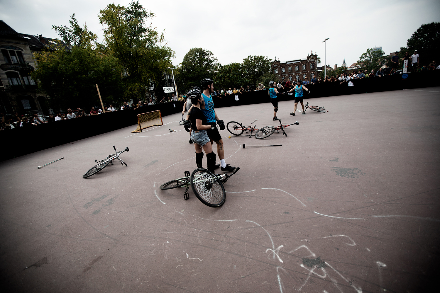Brussels Bike Polo - Le Grand Royal 10 - 2021 by Laurent Orseau #2