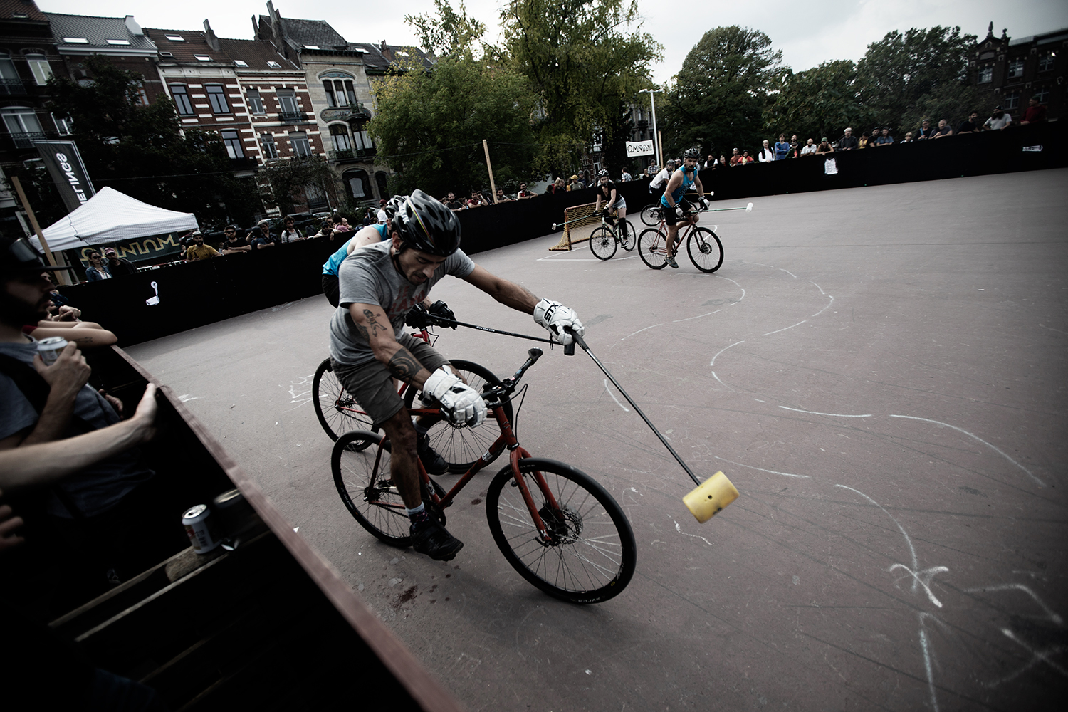 Brussels Bike Polo - Le Grand Royal 10 - 2021 by Laurent Orseau #42