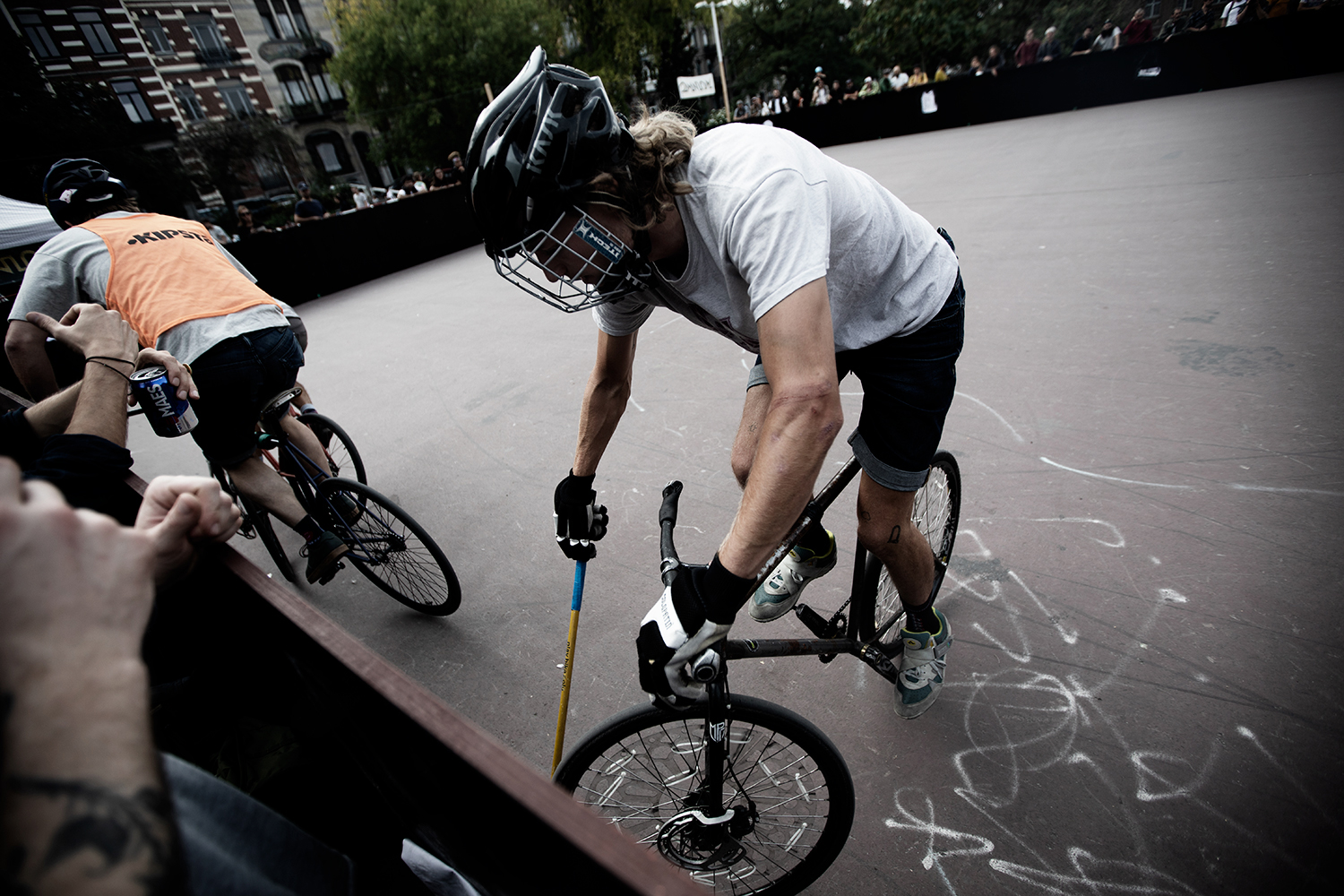 Brussels Bike Polo - Le Grand Royal 10 - 2021 by Laurent Orseau #6