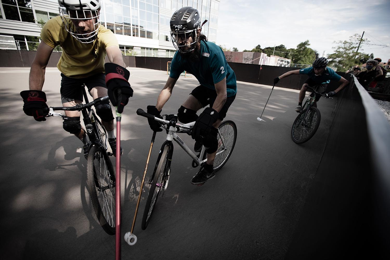Brussels Bike Polo - Le Petit Royal