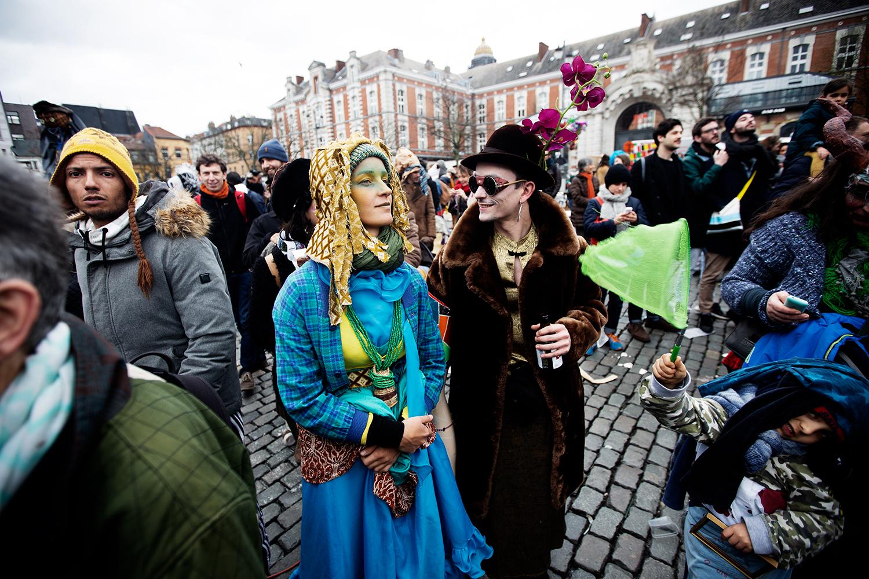 Carnaval Sauvage de Bruxelles 2019 by Laurent Orseau #14