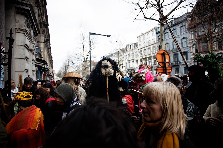 Carnaval Sauvage de Bruxelles 2019 by Laurent Orseau #17