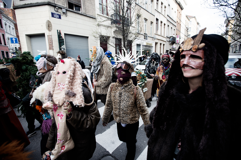 Carnaval Sauvage de Bruxelles 2019 by Laurent Orseau #19