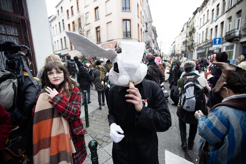 Carnaval Sauvage de Bruxelles 2019 by Laurent Orseau #20
