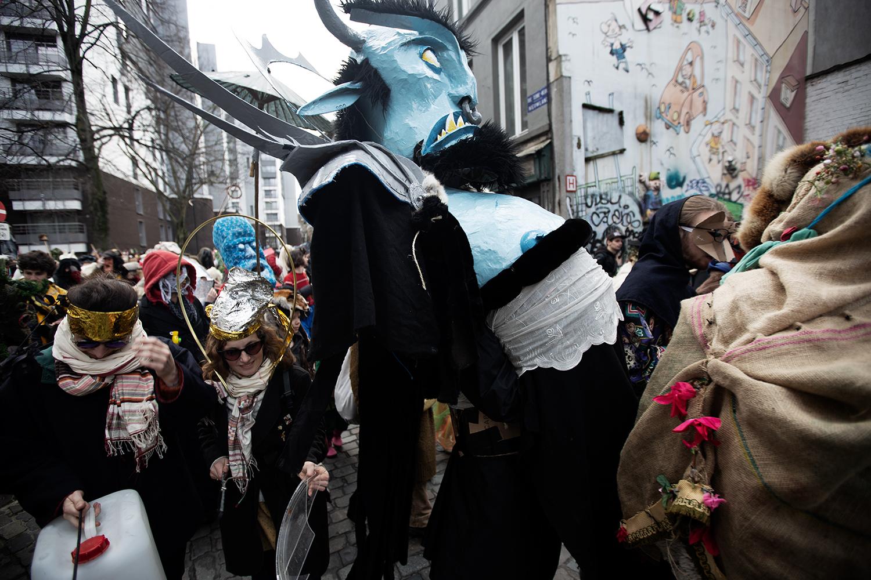 Carnaval Sauvage de Bruxelles 2019 by Laurent Orseau #25