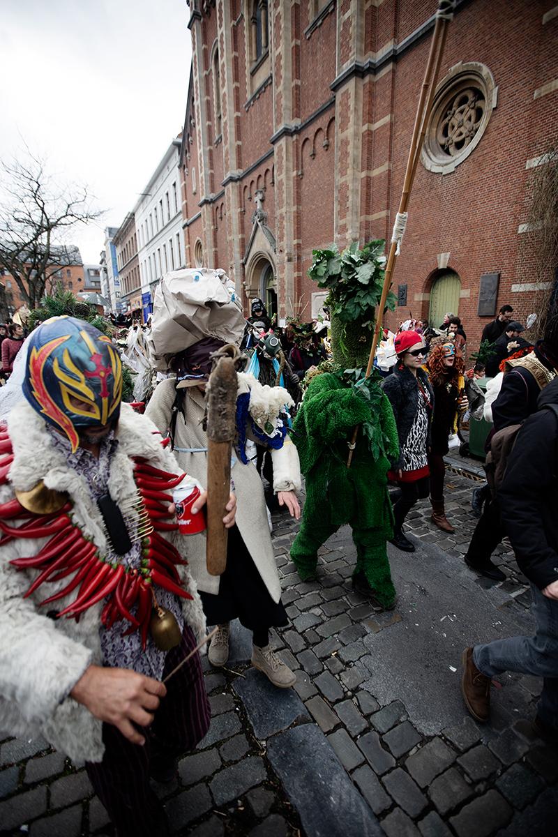 Carnaval Sauvage de Bruxelles 2019 by Laurent Orseau #27