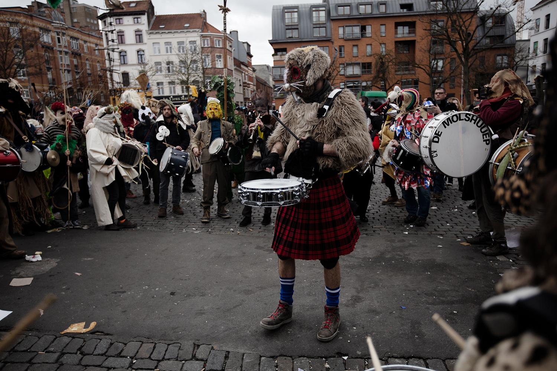 Carnaval Sauvage de Bruxelles 2019 by Laurent Orseau #40