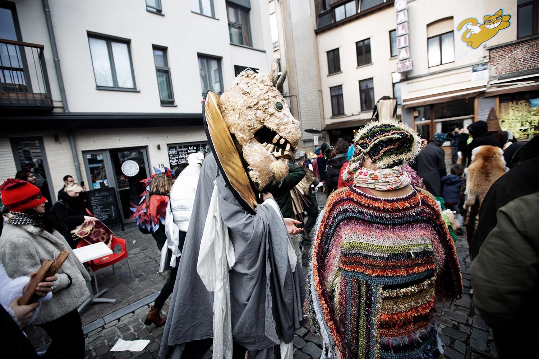 Carnaval Sauvage de Bruxelles 2019 by Laurent Orseau #44