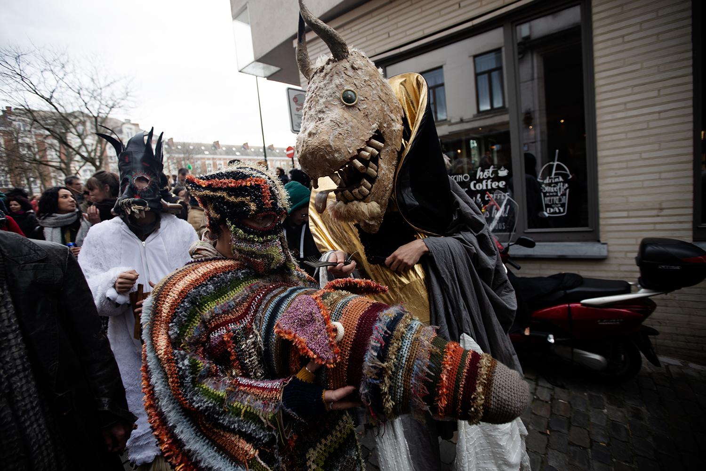 Carnaval Sauvage de Bruxelles 2019 by Laurent Orseau #45