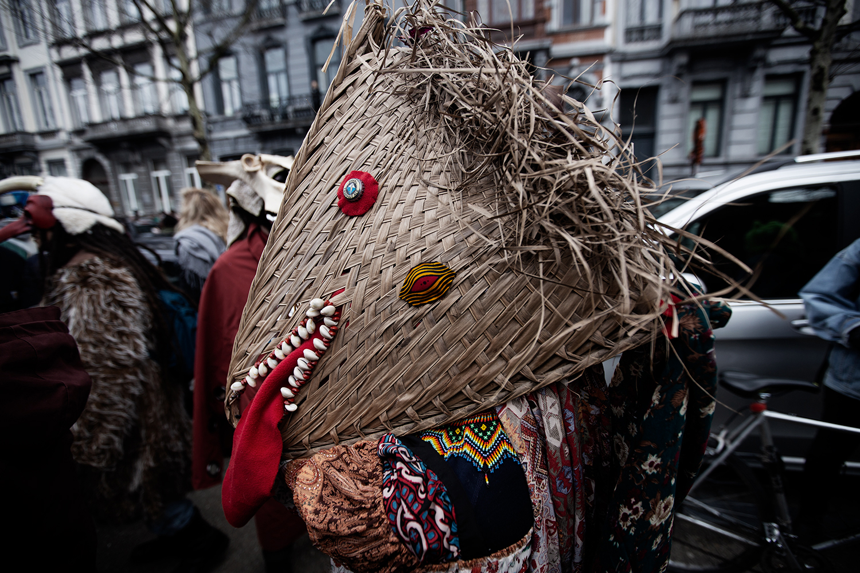 Carnaval Sauvage de Bruxelles 2019 by Laurent Orseau #9