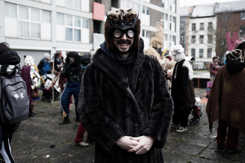 Carnaval sauvage de Bruxelles 2018