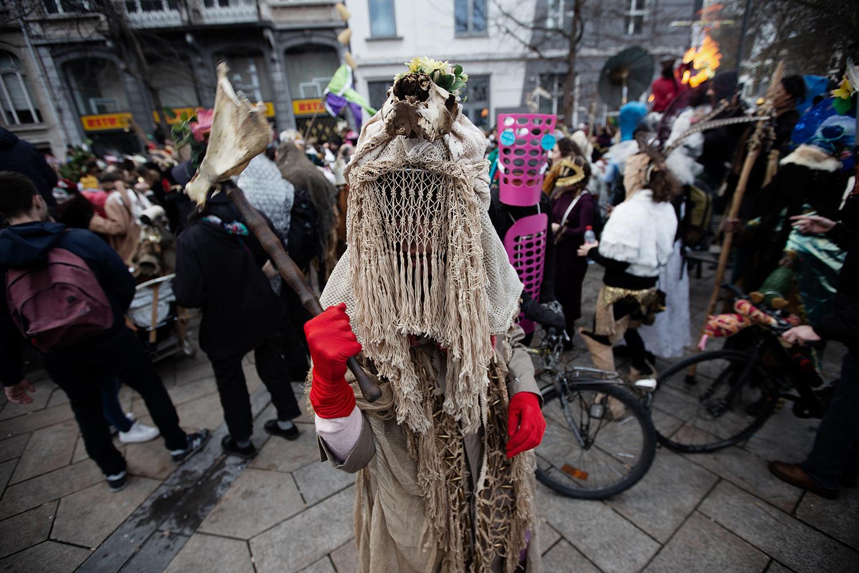 Carnaval Sauvage de Bruxelles 2019 by Laurent Orseau #56