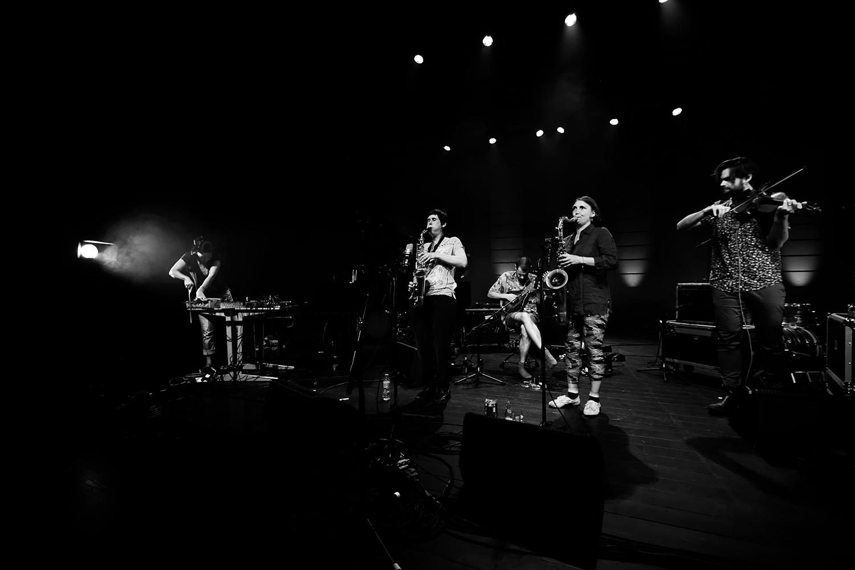Ada Rave & Jasper Stadhouders & Audrey Lauro & Pak Yan Lau & Adam Cadell by Laurent Orseau - Summer Bummer Festival - De Studio - Antwerp, Belgium #1