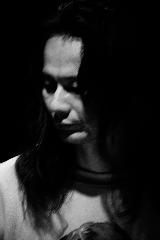 Aki Onda by Laurent Orseau - Concert - Les Ateliers Claus - Brussels, Belgium #11