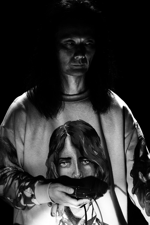 Aki Onda by Laurent Orseau - Concert - Les Ateliers Claus - Brussels, Belgium #5