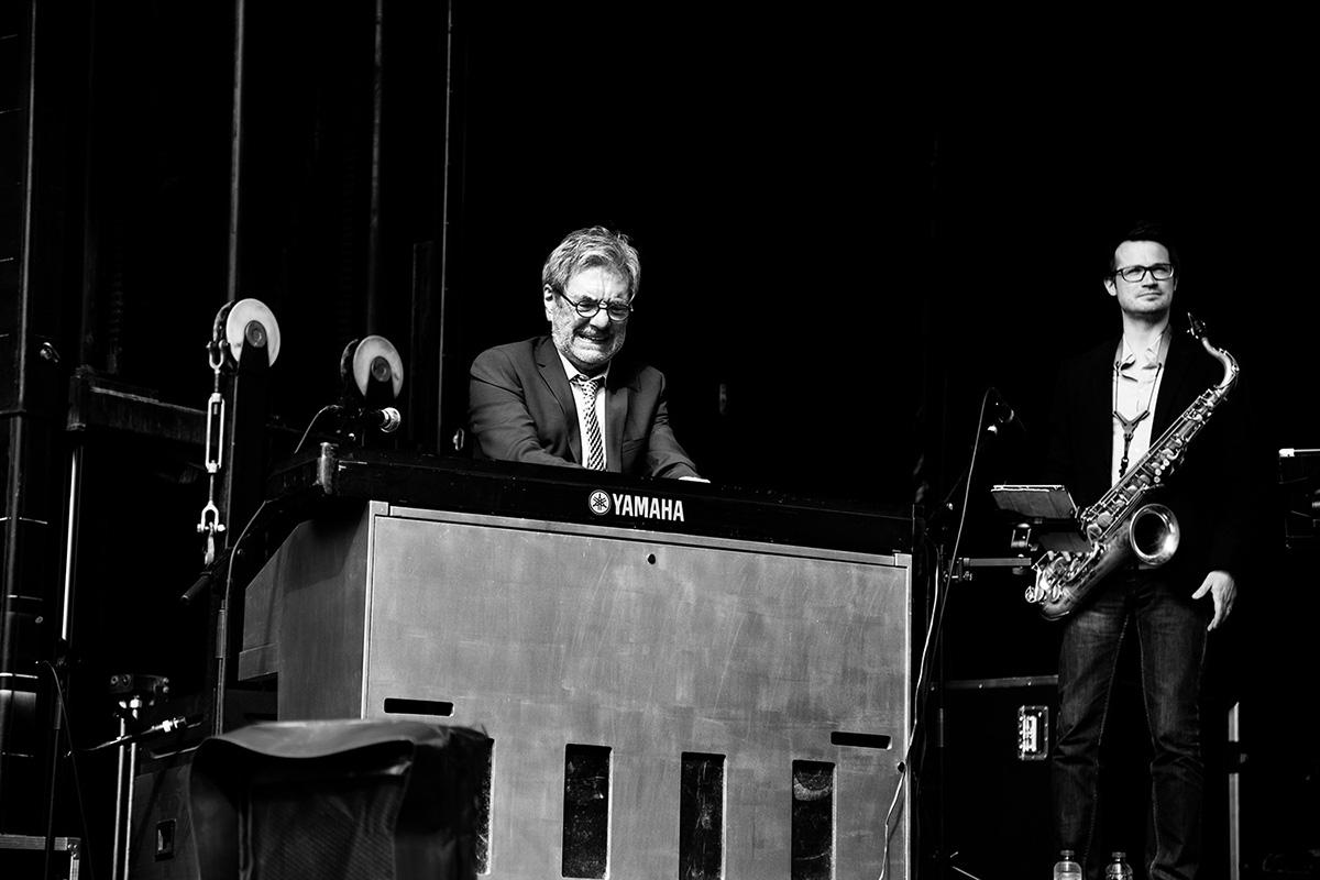 André Brasseur & Band by Laurent Orseau - Parc du Cinquantenaire - Fête de la Musique - Brussels, Belgium #1