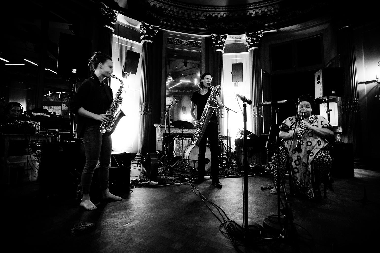 Angel Bat Dawid & Hanne De Backer & Signe Emmeluth - Summer Bummer Festival - De Studio - Antwerp, Belgium