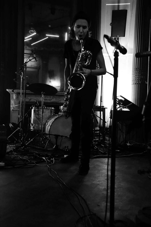 Angel Bat Dawid & Hanne De Backer & Signe Emmeluth by Laurent Orseau - Summer Bummer Festival - De Studio - Antwerp, Belgium #4