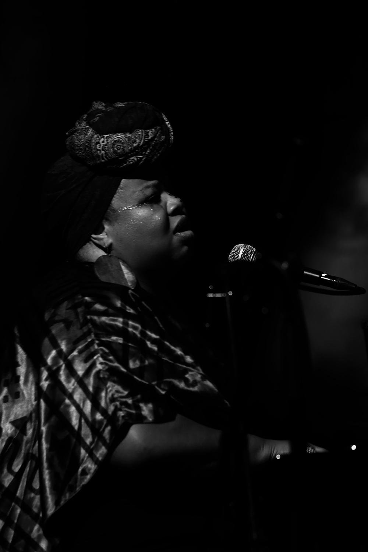 Angel Bat Dawid by Laurent Orseau - Summer Bummer Festival - De Studio - Antwerp, Belgium #11