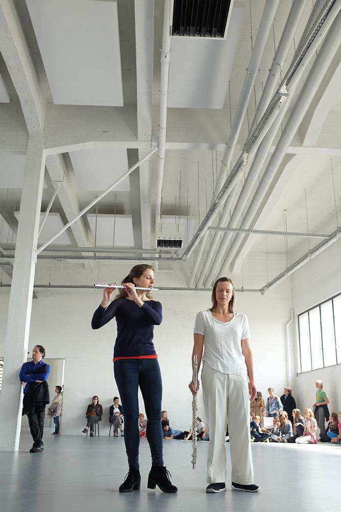 Anne Teresa De Keersmaeker: Work/Travail/Arbeid by Laurent Orseau - Wiels - Brussels, Belgium #1