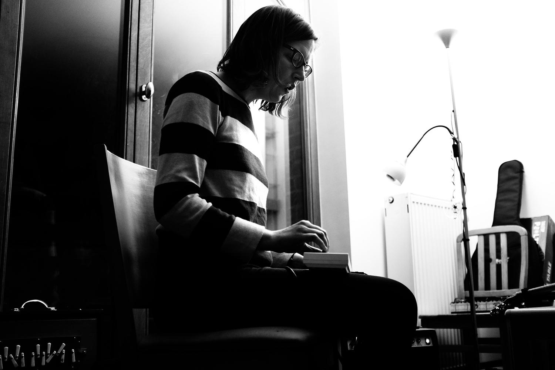 Annelies Monseré by Laurent Orseau - hinah session - hinah hq - Brussels, Belgium #2