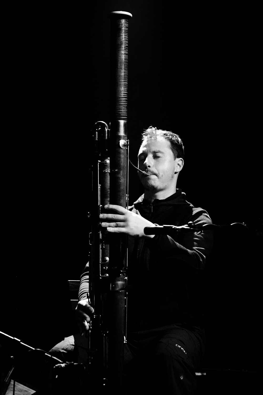 Antoine Loyer & Mégalodons malades + Bégayer by Laurent Orseau - BRASS - Brussels, Belgium #23