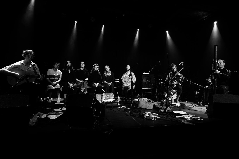 Antoine Loyer & Mégalodons malades + Bégayer by Laurent Orseau - BRASS - Brussels, Belgium #3