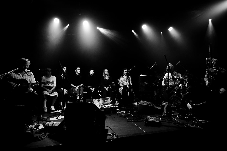 Antoine Loyer & Mégalodons malades + Bégayer by Laurent Orseau - BRASS - Brussels, Belgium #4