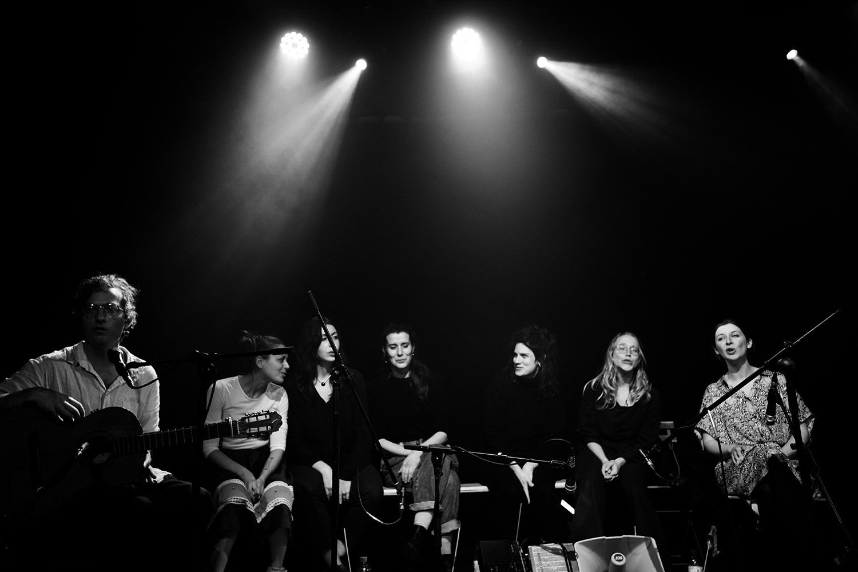 Antoine Loyer & Mégalodons malades + Bégayer by Laurent Orseau - BRASS - Brussels, Belgium #5