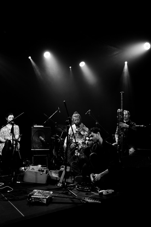 Antoine Loyer & Mégalodons malades + Bégayer by Laurent Orseau - BRASS - Brussels, Belgium #7