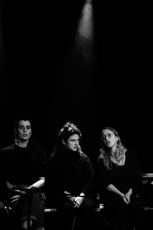 Antoine Loyer & Mégalodons malades + Bégayer by Laurent Orseau - BRASS - Brussels, Belgium #8