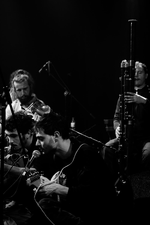 Antoine Loyer & Mégalodons malades + Bégayer by Laurent Orseau - BRASS - Brussels, Belgium #9