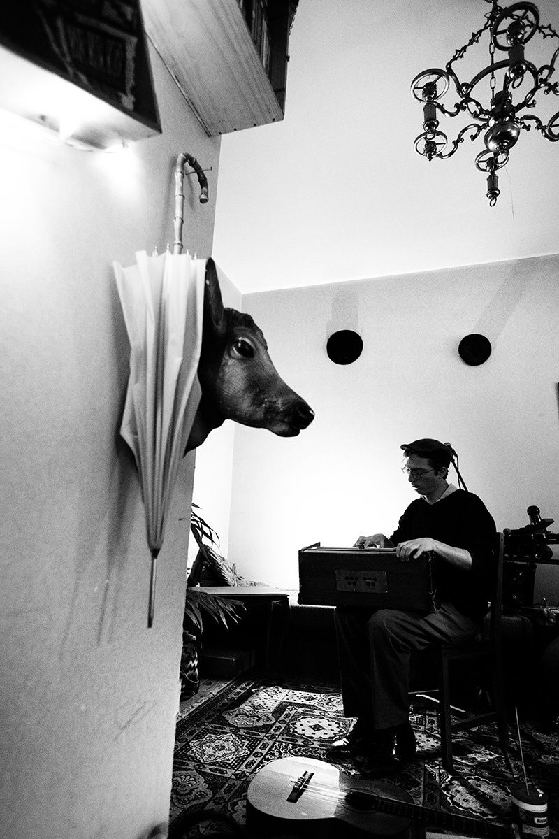 Antoine Loyer & Mégalodons malades by Laurent Orseau - A l'âme et son - Brussels, Belgium #4