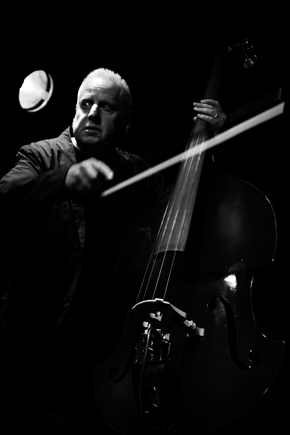 Arnold Dreyblatt & The Orchestra of Excited Strings by Laurent Orseau - Les Ateliers Claus - Brussels, Belgium #10