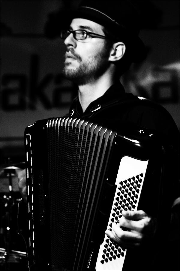 Bakad Kapelye by Laurent Orseau - Concert - MuK - Giessen, Germany #8