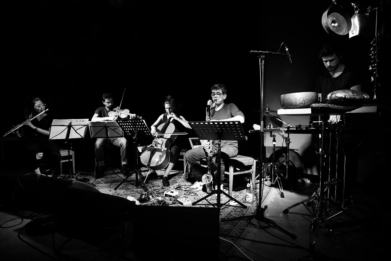 Ben Bertrand Ensemble - Concert - Les Ateliers Claus - Brussels, Belgium