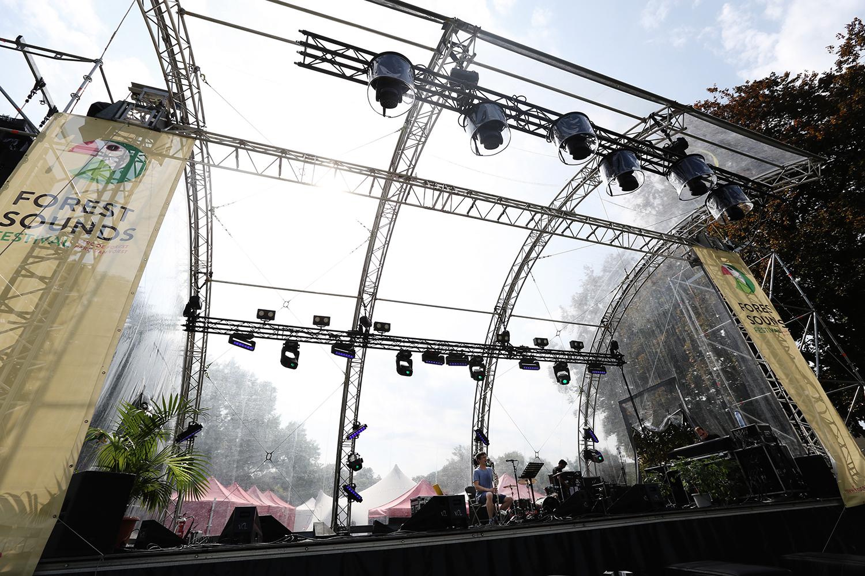 Ben Bertrand by Laurent Orseau - Forest Sounds Festival - Forest Park - Brussels, Belgium #5