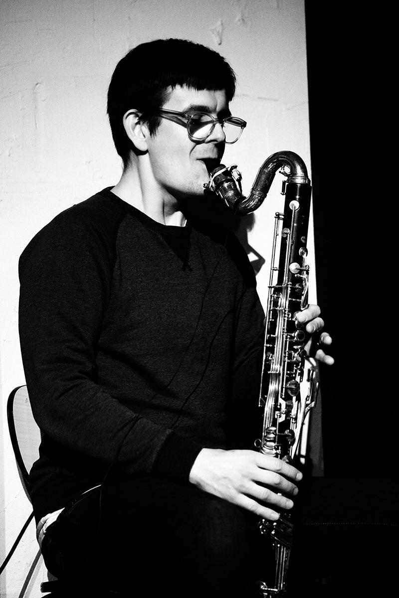 Ben Bertrand by Laurent Orseau - Concert - Le Lac - Brussels, Belgium #4