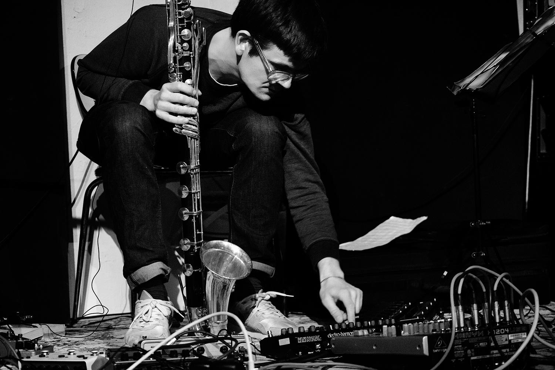 Ben Bertrand by Laurent Orseau - Concert - Le Lac - Brussels, Belgium #7