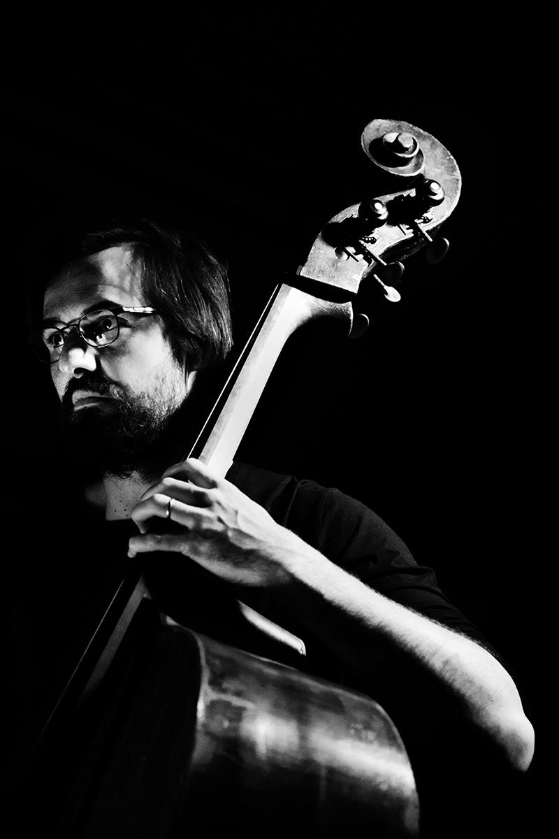 Ben Bertrand & Otto Lindholm by Laurent Orseau - Concert - Les Ateliers Claus - Brussels, Belgium #5