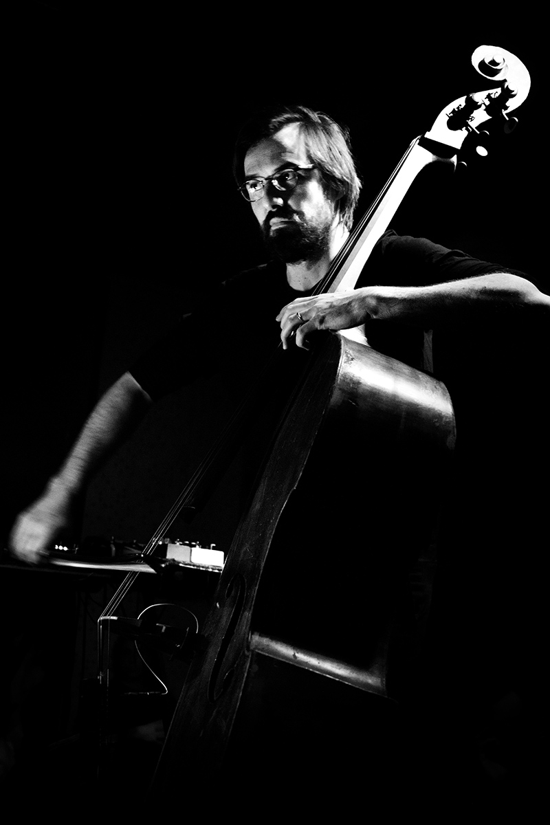 Ben Bertrand & Otto Lindholm by Laurent Orseau - Concert - Les Ateliers Claus - Brussels, Belgium #7